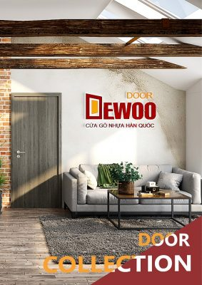 ảnh bìa catalogue cửa nhựa gỗ dewoo