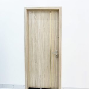 cửa gỗ nhựa composite mẫu 203 ảnh thực tế