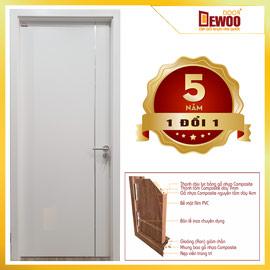 cửa gỗ nhựa composite mẫu 102