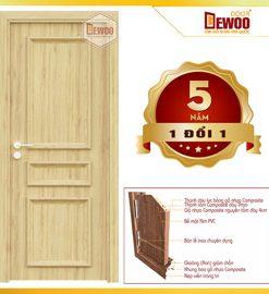 cửa gỗ nhựa composite mẫu 503