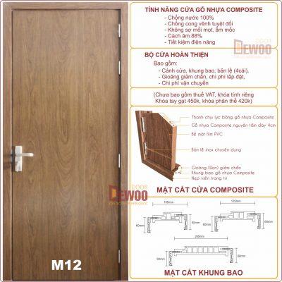 tính năng cửa nhựa gỗ composite