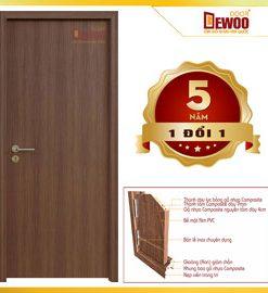 cửa gỗ nhựa composite mẫu 000