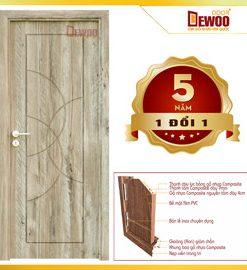 cửa gỗ nhựa composite mẫu 092