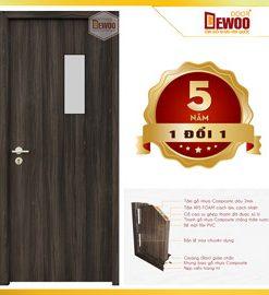 cửa nhựa gỗ composite mẫu 620