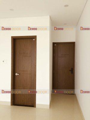 cửa gỗ nhựa composite phòng vệ sinh