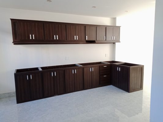 Tủ bếp nhựa vân gỗ Đà Nẵng