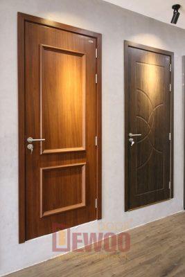 cửa phòng ngủ gỗ nhựa composite