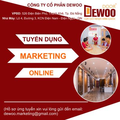 Tuyển Dụng Marketing Online tại Đà Nẵng