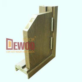 mặt cửa cửa gỗ nhựa composite
